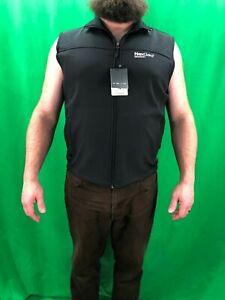 NWT Fossa XL Black Uptwon Soft Shell Vest Microfleece NEXGARD