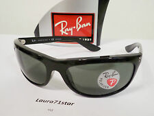 RayBan 4089 Balorama Polarized Icons Black Nero occhiali sole sunglasses New