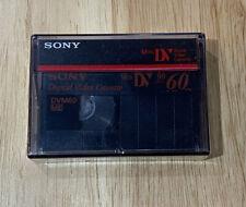 Brand New Sealed! Sony Mini Dv Dvc Digital Video Cassette Tape 60 Minutes Dvm60