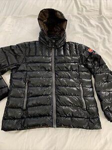 COLMAR Black Size M/L? Removable Hood Puffer Jacket