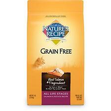 Nature's Recipe Grain Free All Life Stages Salmon and Potato Recipe, 5 lb, New,