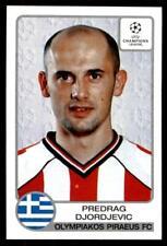 Panini Liga de Campeones 2001-2002 Predrag Djordjevic Olympiakos no. 224