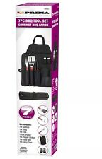 The Best Prima Barbecue Grilling Apron 7pc Utensil BBQ Cooking Tool Set