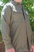 Dutch Army OD cotton Field Shirt size Medium - snug Large size 100 cm new M2949