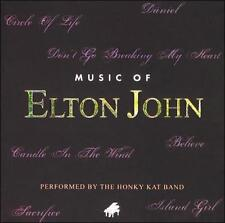MUSIC OF ELTON JOHN - THE HONKY KAT BAND!!  NEW!!!!!!!!!!!!