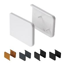 Pair Short Window Cill Capping End Cap UPVC Internal Cover Board Plastic Trim