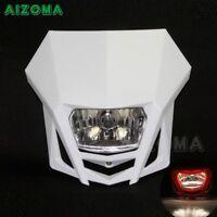 Motorcycle 12V Front Headlight Headlamp Motorbike Head Light For Dirt Bike
