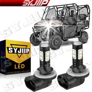 For Honda UTVs Pioneer 500700 Bombilla LED para faros delanteros paquete 2 6000K