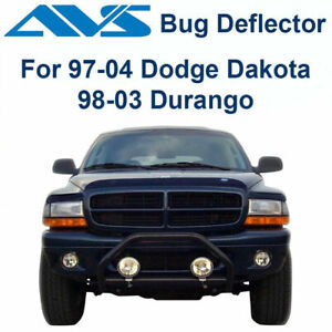 AVS 25923 Bugflector II Bug Deflector Hood Shield Smoke 1997-2004 Dodge Durango