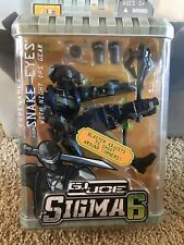 2006 Gi Joe Sigma 6 Snake Eyes With Night Ops Gear Action Figure Play