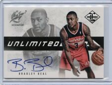 2012-13 LIMITED #26 BRADLEY BEAL AUTOGRAPH ROOKIE RC #64/199, WASHINGTON WIZARDS