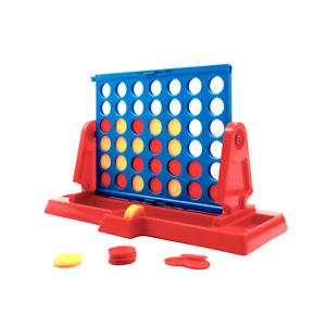 Juego clasico de mesa 4 en Raya Estrategia Cuatro en Linea para 2 jugadores
