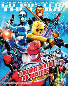 Tokumei Sentai Go-Busters (Vol: 1 - 50 End + Movie) with English Subtitles