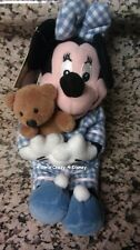 Disney Minnie In Night ware Attire Beanie w tag mint retired Vintage