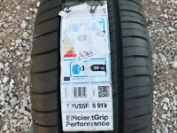 1 X NEW 205 55 16 GOODYEAR EFFICENTGRIP 205/55 R16 91V