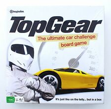 TOP GEAR BOARD GAME by IMAGINATION 2008  (PARTIALLY SEALED)