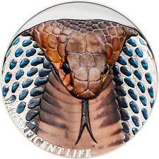 5$ 2017 Cook Islands - Magnificent Life - Kobra / Cobra