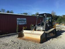 2017 Jcb 260t Compact Track Skid Steer Loader With Joystick Controls Clean 1600hrs
