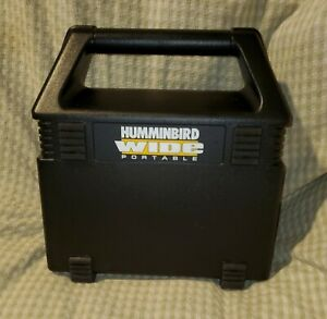 OLD STOCK (NEVER USED)HUMMINGBIRD WIDE Eye Portable Fish Finder w/Transducer