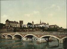PAU le château photochrome vers 1890-1900 Pyrénées-Atlantiques 64
