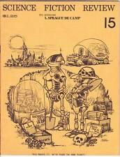 SCIENCE FICTION REVIEW #15 - 1975 fanzine - Kurt Vonnegut, review of SPACE 1999.