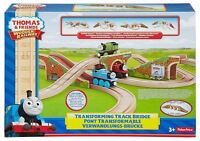 Thomas & Friends Train Engine Wooden Railway Transforming Track Bridge
