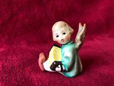 GOEBEL Engel mit Ziehharmonika als Kerzenständer um 1970 unbeschädigt