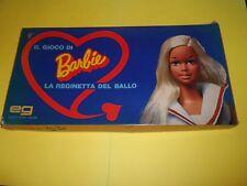 parti ricambio gioco da tavolo barbie la reginetta del ballo anni 80 vintage gam
