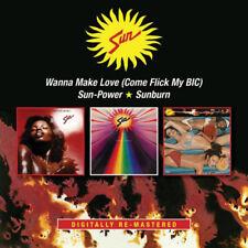 Sun : Wanna Make Love/Sun-power/Sunburn CD (2016) ***NEW***