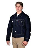Levi's Mens TYPE 1 Trucker Jacket Made In USA Denim Blue