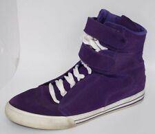 * Supra * TK Society Purple Suede W/ Rubber Sole High Tops Mens Sneakers 9.5 US