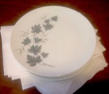 6 NORITAKE WILD IVY LUNCH OR SALAD PLATES DISCONTINUED