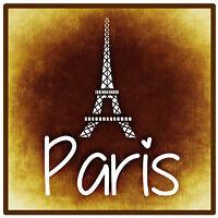 Paris,Frankreich - Souvenir NEUHEIT Platz Kühlschrank-Magnet -