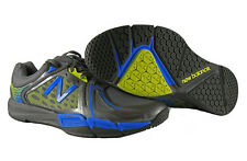 New Balance Mens Titanium MX997 Training v2 Shoes in Grey/Yellow/Blue size 13