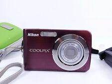 Nikon COOLPIX S210 8.0MP Digital Camera - Plum *tested... working