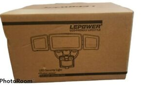LEPOWER 35W LED Security Lights Motion Sensor Light Outdoor, 3500LM Motion