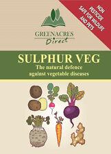 Greenacres Sulphur Veg natural defence against vegetable diseases plant feed