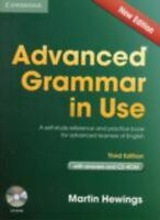 Advanced Grammar in Use, with Answers and CD ROM, Martin Hewings, Third edition