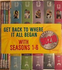 Beverly Hills 90210 DVD Box Set SEASONS 1-6 BRAND NEW  FREE SHIPPING !!