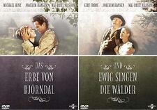 BJÖRNDAL 1 & 2 UND EWIG SINGEN DIE WÄLDER + DAS ERBE DELLA 2 DVD Edizione