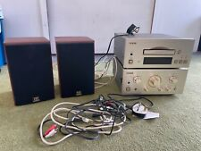 More details for teac 500 amp & cd player plus two monitor audio one speakers