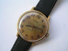 Russian VINTAGE WATCH Ussr VOSTOK gold plated - Serviced