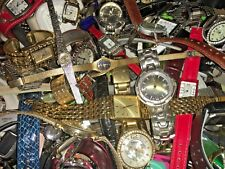 Lot Name Brand Watches - Fossil Seiko Pulsar Timex Etc  - Repair Harvest Use