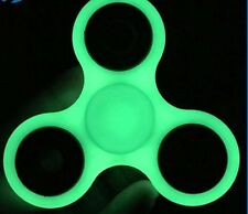 FIDGET Hand Spinner Glow In The Dark - Stainless Steel Bearings Brand New