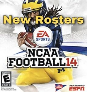 NCAA 14 FOOTBALL New ROSTERS READY - 2020 - 2021 SEASON - NOT GAME PS3 XBOX 360