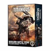 Warhammer 40k Adeptus Titanicus  Warlord Battle Titan w/ Plasma Annihilator NEW