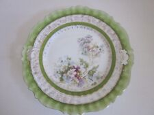 Antique Plate with handles 9.75""