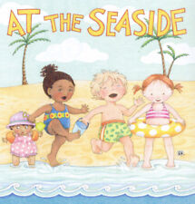 At The Seaside Kids-Handcrafted Beach Fridge Magnet-w/Mary Engelbreit art