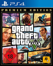 GTA Grand Theft Auto V Premium Edition (PlayStation 4, 2013)