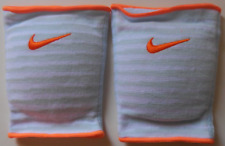Nike Essential Knee Pads Volleyball White/Cobalt Tint Men's Women's L/XL